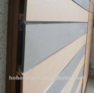 panneau de mur décoratif Rayer-résistant de WPC