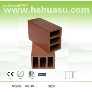 wood plastic composite railings