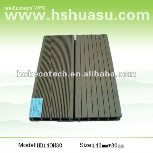 Promotion! Recycled water-proof wpc hollow outdoor flooring (CE RoHS ISO9001 ISO14001)