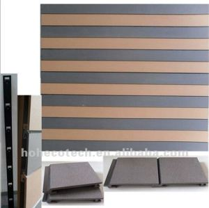 artifical wood plastic composite wall panel