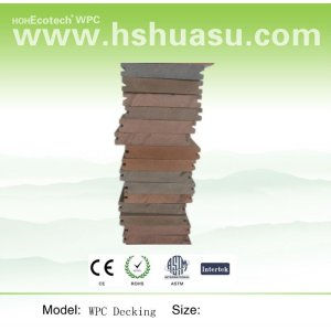 recycled wood plastic composite flooring boards