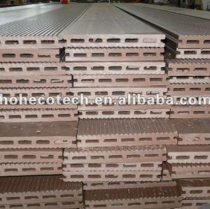 Wood Fiber + HDPE WPC Composite hollow decking