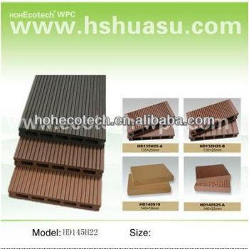 Hollow wpc decking floor composite floor board/composite floor/composite deck