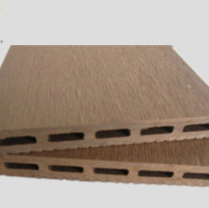 wood plastic composite swimming pool deckings