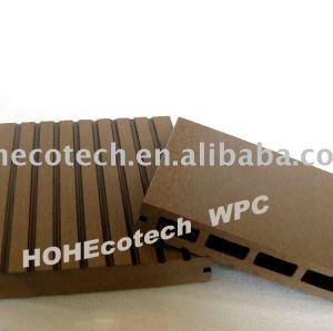 CE composé en plastique en bois de decking/plancher, portée