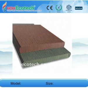 90*10mm wpc compuesto plástico de madera decking/suelo piso junta ( ce, rohs, astm, iso9001, iso14001, intertek ) decking del wpc piso