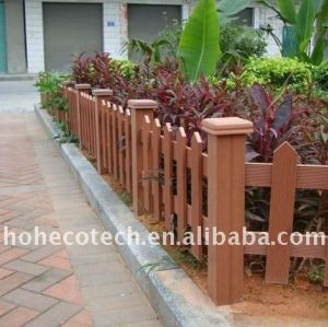 Well design waterproof WPC composite fencing/railing
