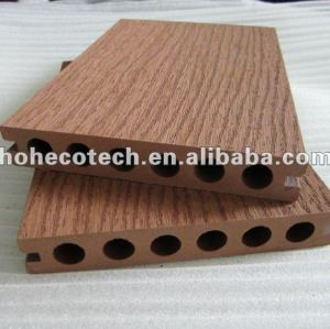 Recycable wood and Plastic Composite Flooring/decking(waterproof/Wormproof/Anti-UV/Resistant to rot and mold )