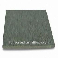 135*9mmの紙やすりで磨く表面の習慣長さWPCの木製のプラスチック合成のdeckingか床板(セリウム、ROHS、ASTM)のwpcのdeckingの床に床を張ること
