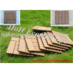 環境に優しい木製のプラスチック合成のdeckingか床タイル