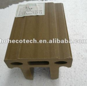 100% reciclado wpc alta qualidade corrimão corrimão( wpc pisos/painel de parede wpc/wpc produtos de lazer)