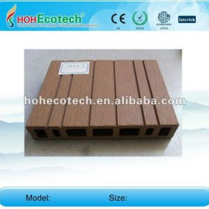 Anti-UV water-proof wood plastic composite decking board (CE ROHS)