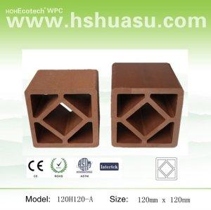 wood plastic composite handrail