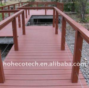 Decking composé en plastique en bois de decking de WPC/decking commercial moderne d'hôtel meubles de plancher
