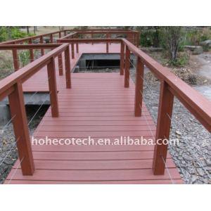 WPC decking wood plastic composite decking/flooring Modern Commercial Furniture hotel decking