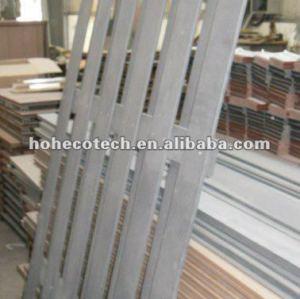 Wood Plastic composite fencing wpc for garden edge/backyard
