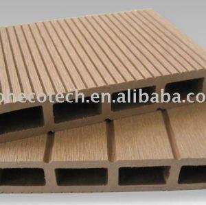 Zusammengesetzter Bodenbelag des Decking-/WPC für im Freiengebrauch