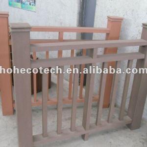 Wood Plastic composite wpc fencing