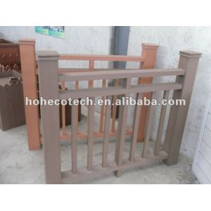 Wood Plastic composite wpc fencing