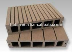 unprecedent composto plástico de madeira do jardim deck