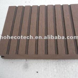 100% recycled wpc outdoor solid flooring (wpc decking/wpc wall panel/wpc leisure products)