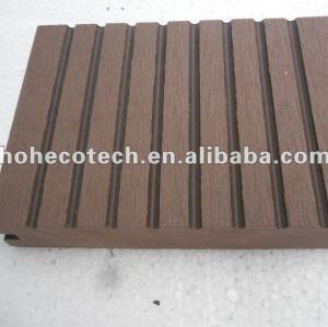 100% riciclati wpc esterno pavimentazione solida ( wpc decking/wpc pannello murale/wpc prodotti di svago )