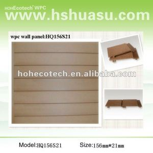 Wood plastic composite wpc wall panel/wall cladding board