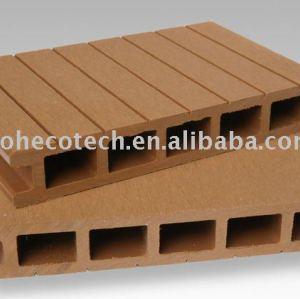 Wpc suelo/wpc cubiertas al aire libre/compuesto jardín de la cubierta