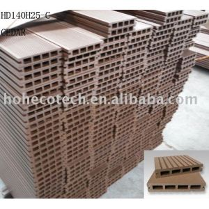 Wood like WPC decking--ISO14001