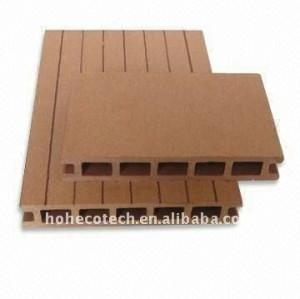 Decking del wpc compuesto plástico de madera decking/pisos modernos muebles de oficina hotel decking azulejos