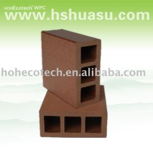 Legno decking composito di plastica/pavimento