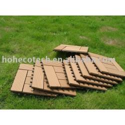 木製のプラスチック合成のdeckingまたは床のタイル容易な取付け
