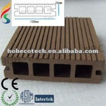hollow wpc decking floor/composite floor