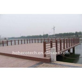 Engineered flooring outdoor WPC wood plastic composite decking/flooring (CE, ROHS, ASTM, ISO 9001, ISO 14001,Intertek)