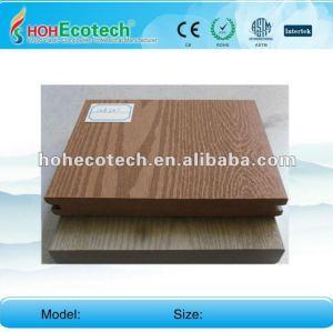 Huasu anti-UV water-proof outdoor wpc decking (CE ROHS)