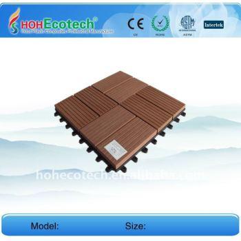 WPC Tiles, Wood Plastic Composite Decking / Tiles