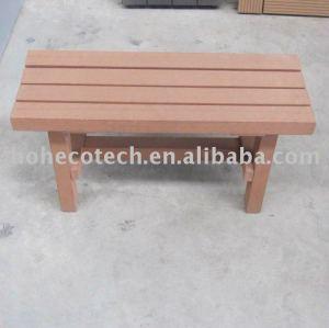 Wpc lazer produtos/ pequenas cadeira de madeira
