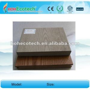 solid composite deck/anti-UV water-proof outdoor wpc decking (CE ROHS)