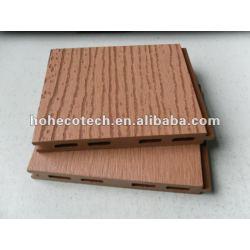 浮彫りになる表面HOH Ecotech 125x15 WPCの木製のプラスチック合成のdeckingか床タイル