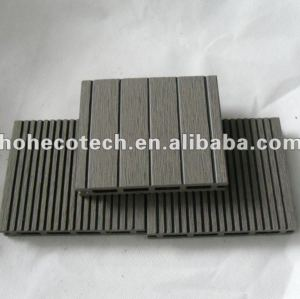 17mm wpc wood plastic composite decking/pisos 100x17mm ( ce, rohs, astm, iso 9001, iso 14001, intertek ) wpc decking composto