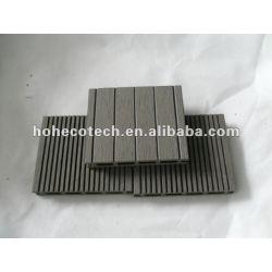 17mm WPCの木製のプラスチック合成のdeckingまたはフロアーリング100x17mm (セリウム、ROHS、ASTM、ISO 9001、ISO 14001、Intertek)のwpcのdeckingの合成物
