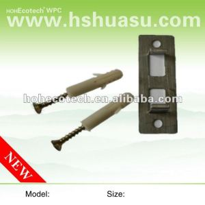 WPC decking 장선 합성 갑판 부속품 장선을 위한 스테인리스 클립