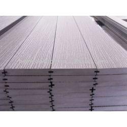 固体wpcのdeckingの床のWPC材料を浮彫りにする屋外の床板