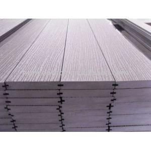 SOlid wpc decking FLOOR outdoor flooring board Embossing WPC material