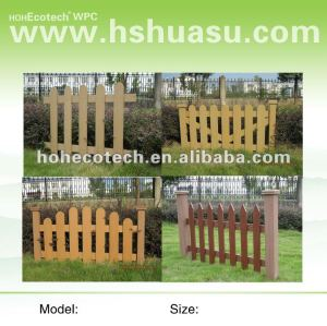 Eco-Wood WPC fencing material/garden natural fences
