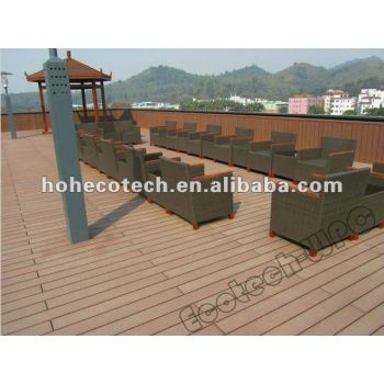 High tensile strength and Corrosion-resistant project wpc Outdoor Decking,Engineered flooring wpc