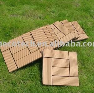 деревянный пластичный составной настил/плитка - легкая установка