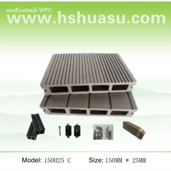 wpc composite decking 150H25 C
