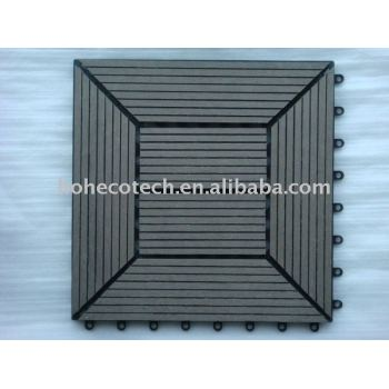 WPC Decking tile/Outdoor decking /garden floor /wood plastic copmosite decking