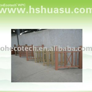 High tensile strength Wpc railing ( outerdoor wpc )